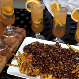 Grilled Drunken Fruit Recipe