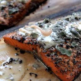 Plank Smoked Salmon Recipe